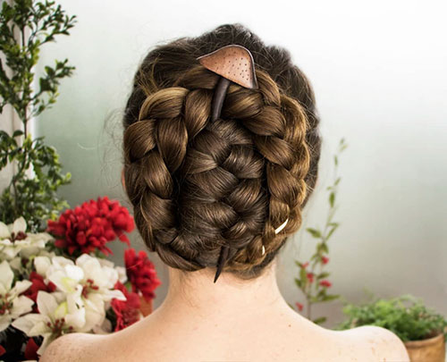 Different Bun Styles For Long Hair