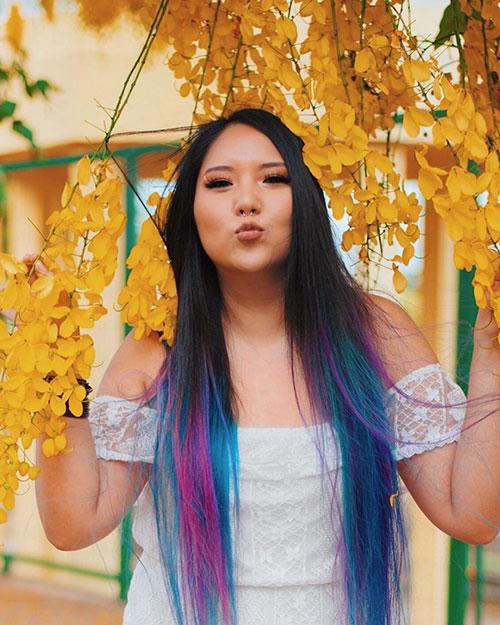 Hair Color For Long Hair