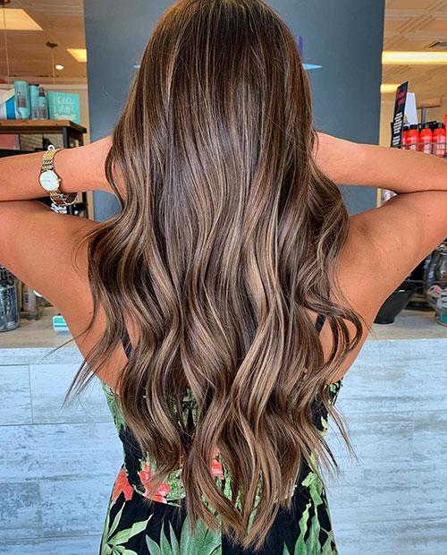 Hair Color Styles For Long Hair