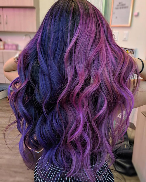 Long Hair Hair Color Ideas