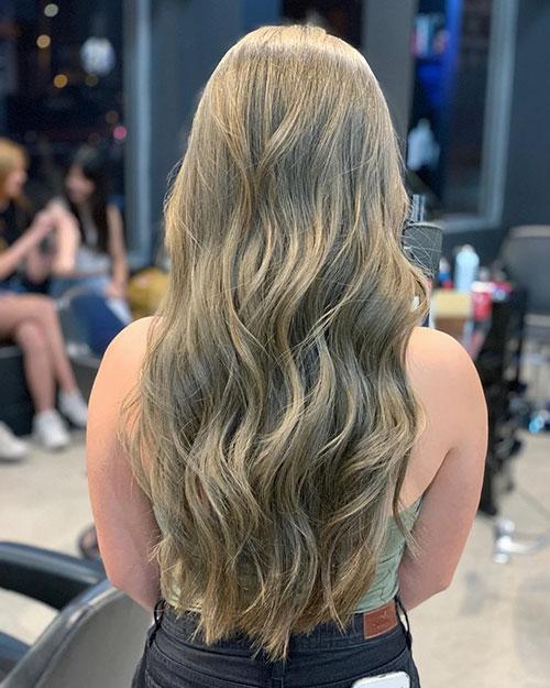 Long Hair Asian Style