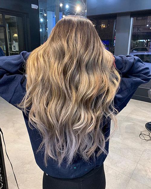 Long Asian Hair Style