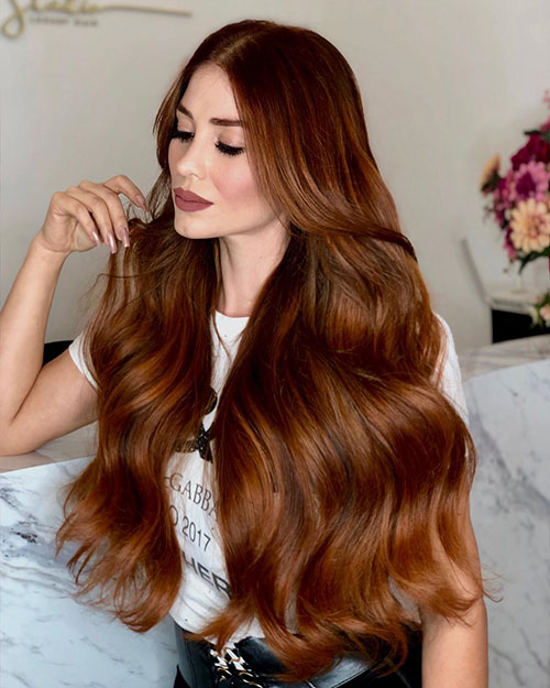 Long Haircut And Color Ideas