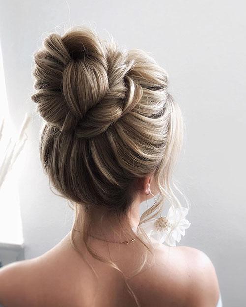 Perfect Bun For Long Hair