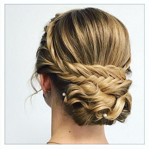 Long Hair Bun Styles