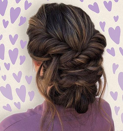 Wedding Bun Hairstyles For Long Hair