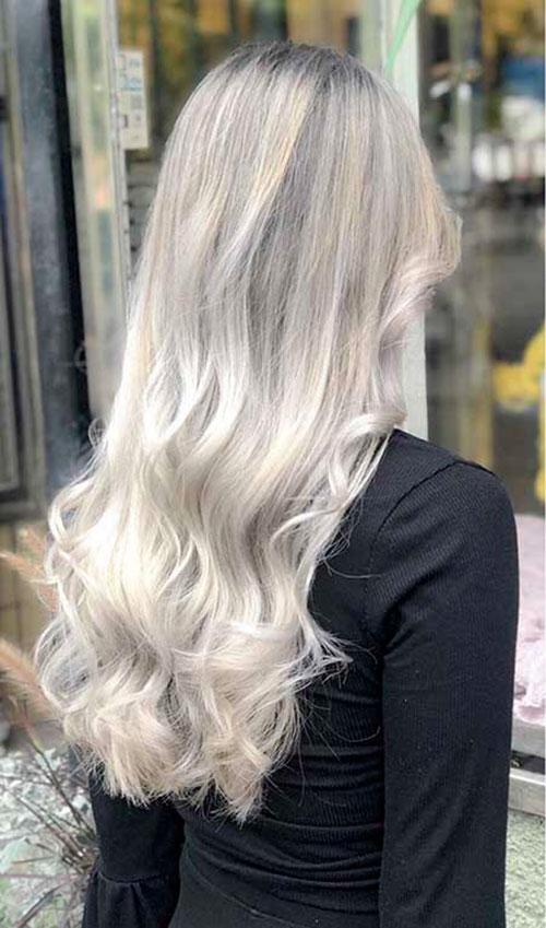 Long Hair Style Asian