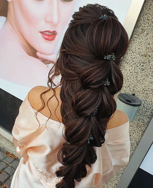 1920'S Updo Hairstyles For Long Hair