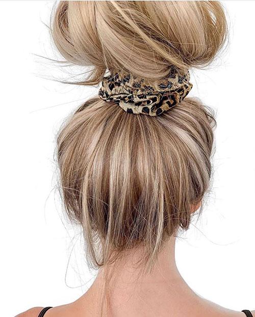 Hair Bun Ideas For Long Hair