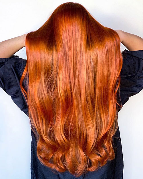 Long Hairstyles With Color