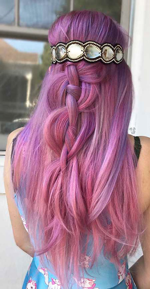 Nice Hair Color For Long Hair