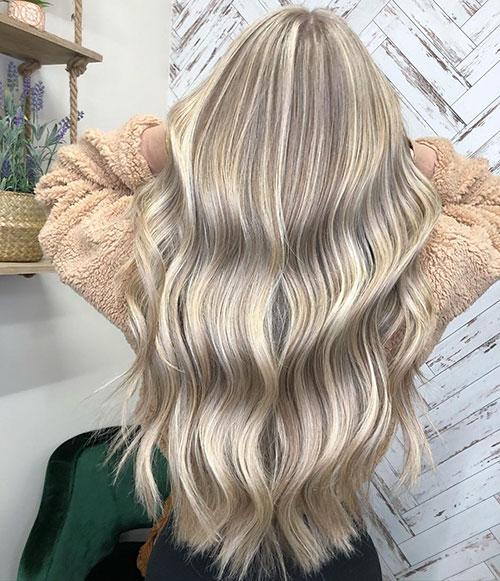 Wedding Hair Long Blonde