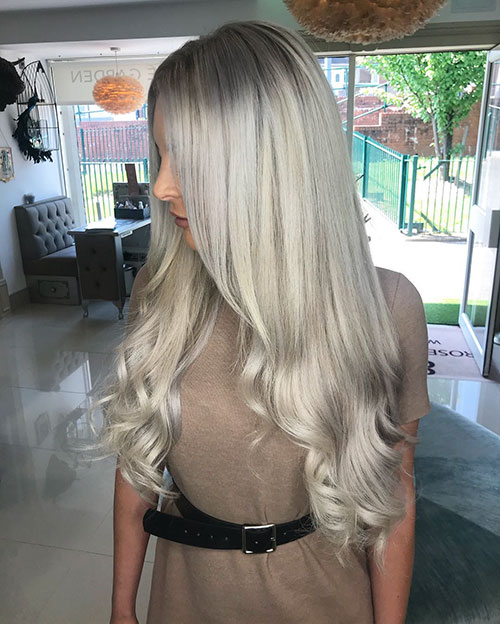 Long Haired Blonde