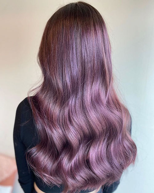 Hair Color And Styles For Long Hair