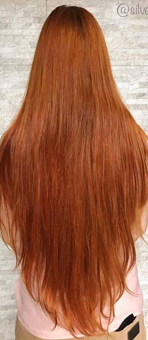 Red Long Hair