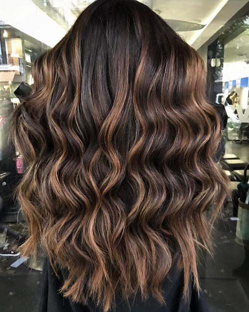 Womens Balayage Long Hair