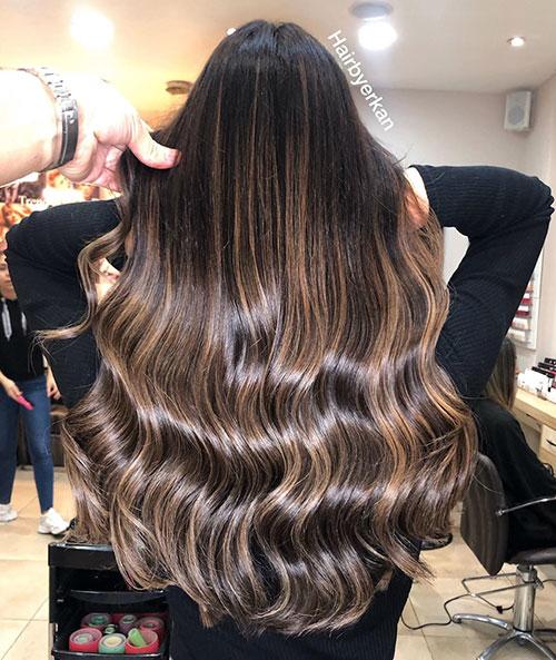Balayage Hair Blonde Long