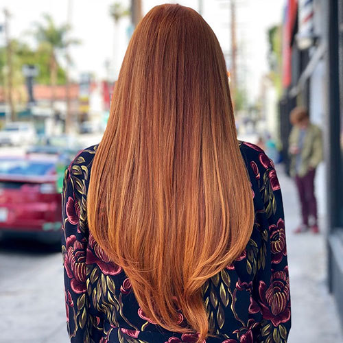 Long Hair Red