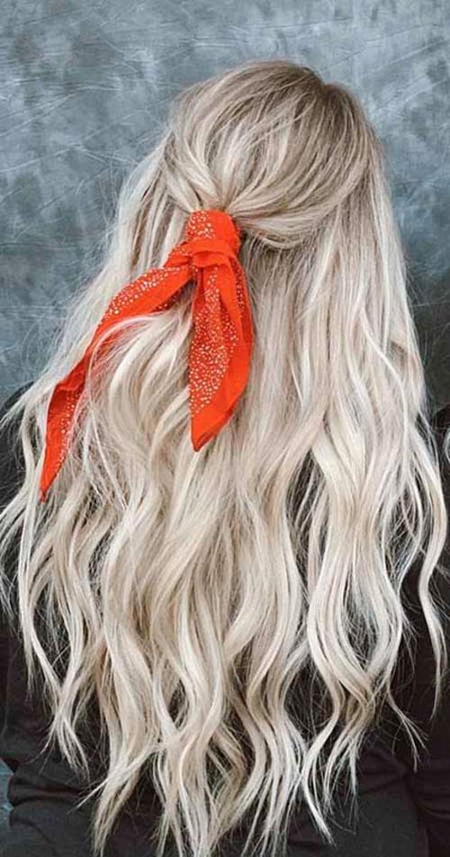 Katy Perry Long Hair Blonde