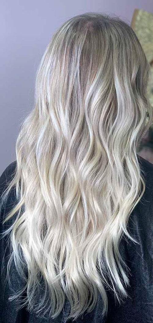 Long Blonde Hair 2020