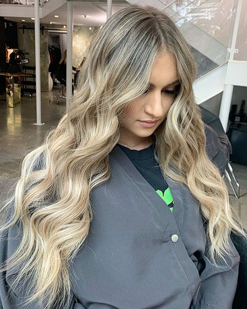 Long Blonde Hair Lyrics