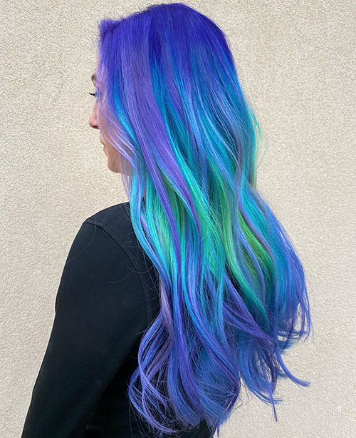 Hair Color For Long Hair 2020