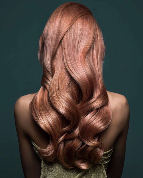 Best Hair Color For Long Hair