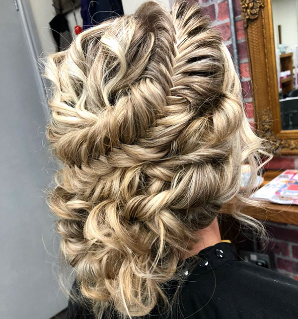 Long Updo Hair Ideas