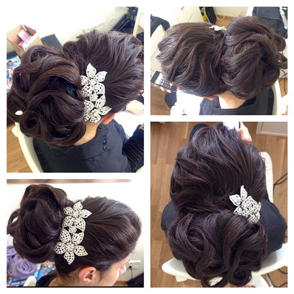 Updo Hair Styles For Long Hair Women