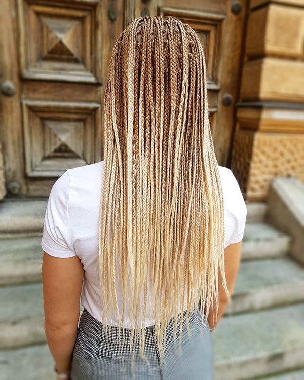Long Blonde Hair For Women