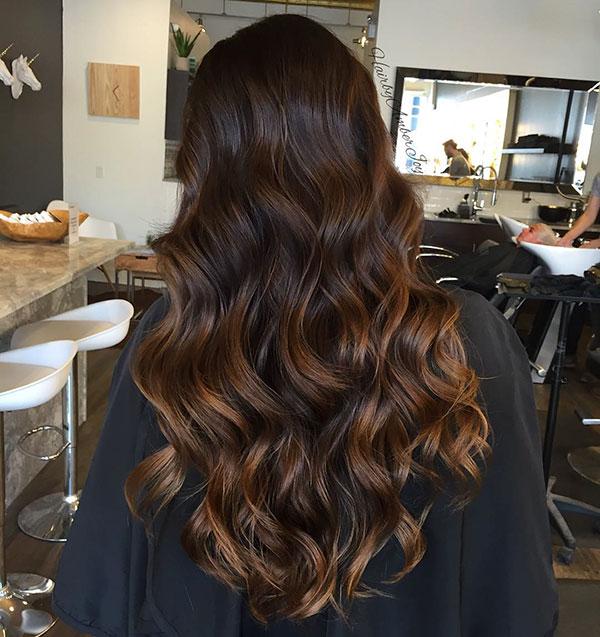 Long Haircut Ideas For Thick Hair