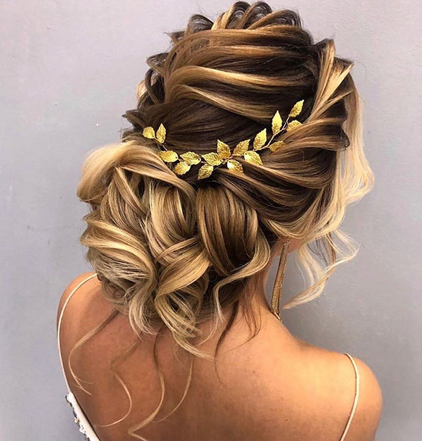 Long Updo Hairstyle Pictures