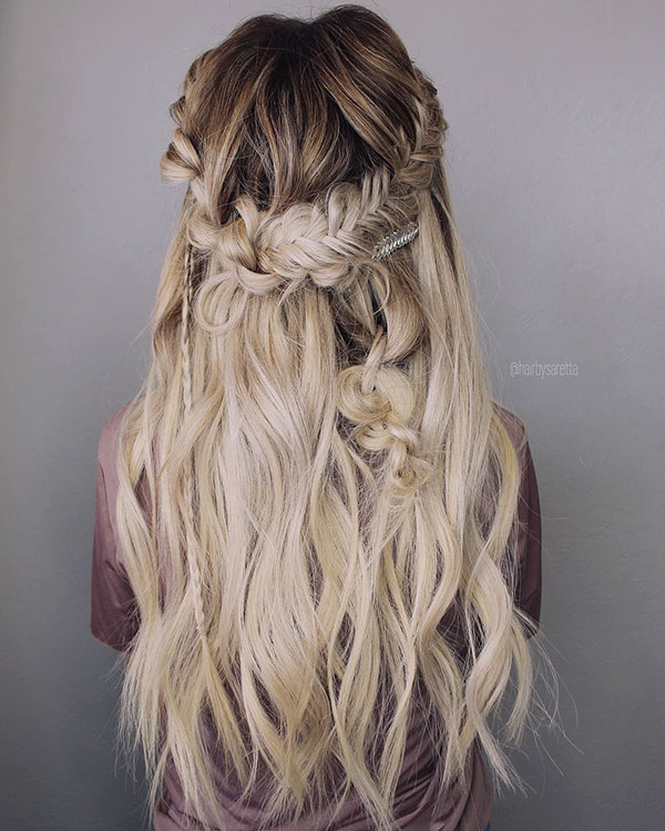 Blonde Hair Ideas For Long Hair