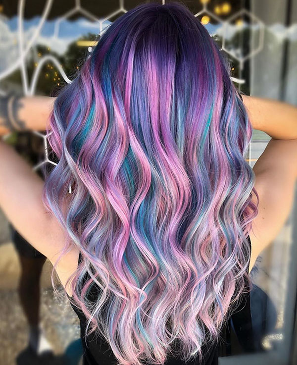 Long Vibrant Hairstyles