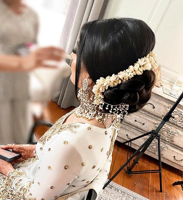 Long Hair Bridal Styles