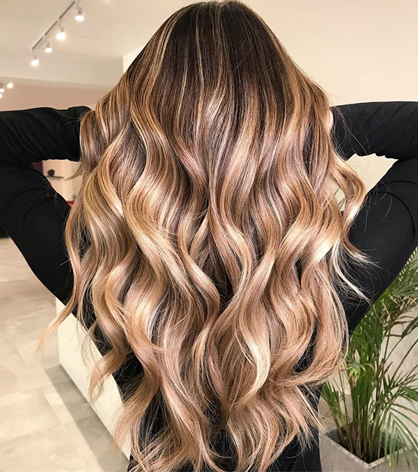 Pictures Of Long Balayage Hair