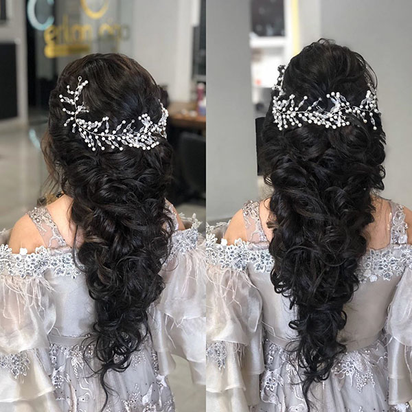 Bridal Styles For Long Hair