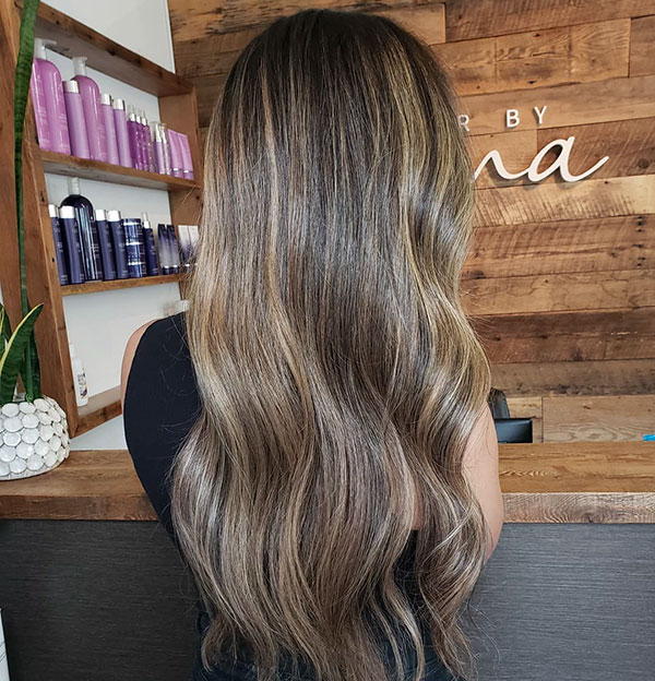 Long Hair Color 2020