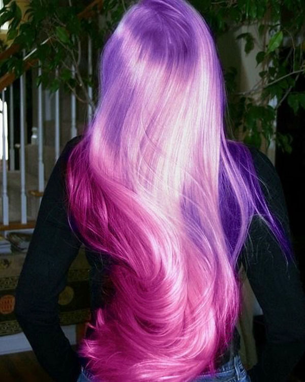 Pink Long Hair