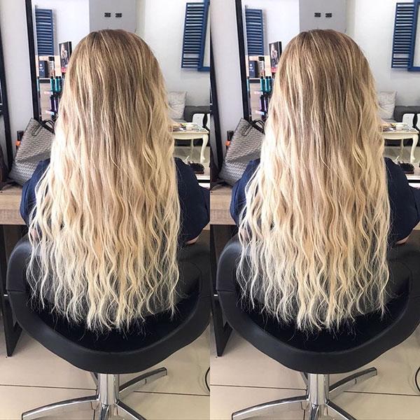 Beautiful Long Wavy Hair