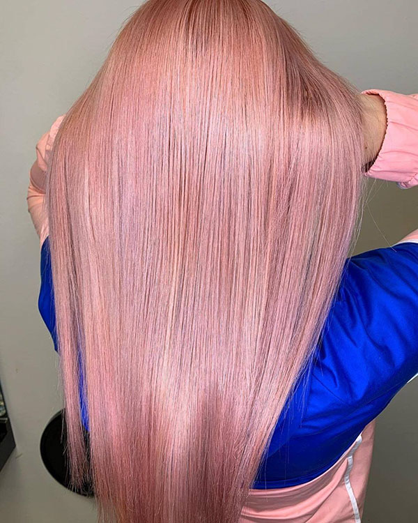 Long Pink Hairstyles 2020