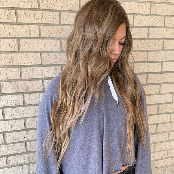 Long Simple Hairstyles