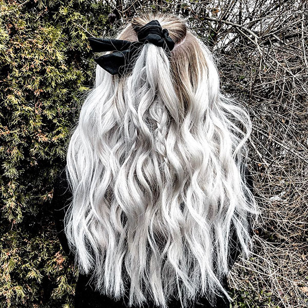 Bleached Long Hairstyles For Women