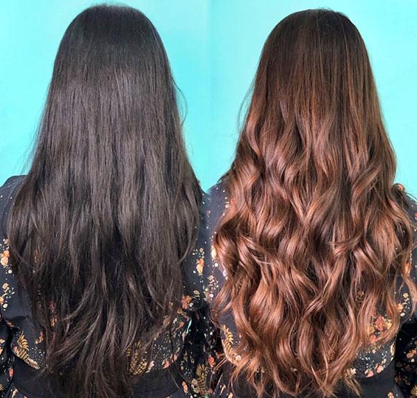 Long Hair Color
