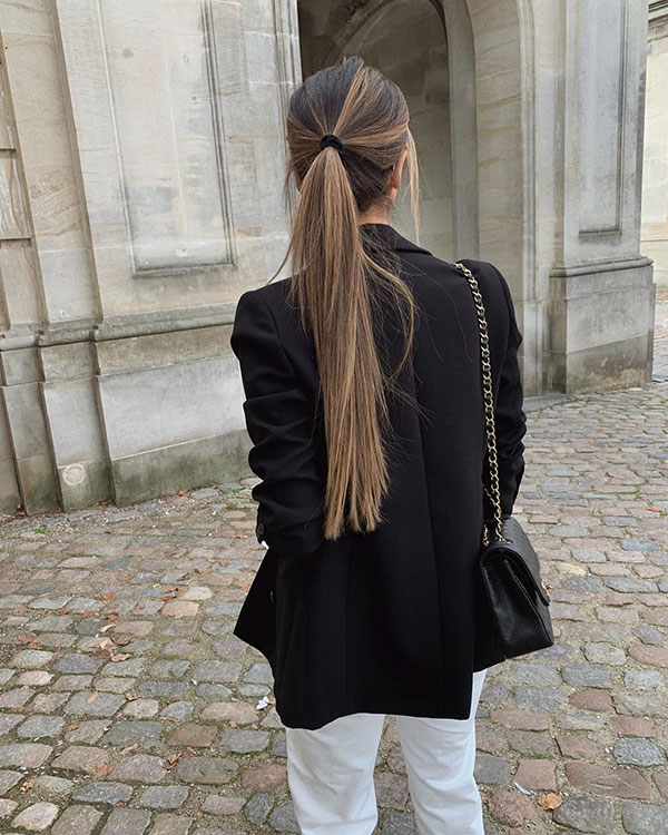 Ponytail Styles For Long Hair
