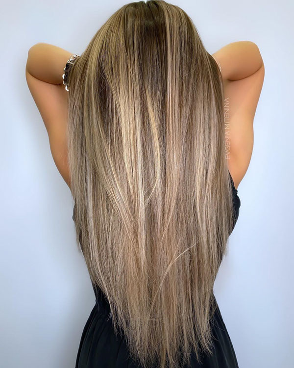 Simple Long Hairstyles