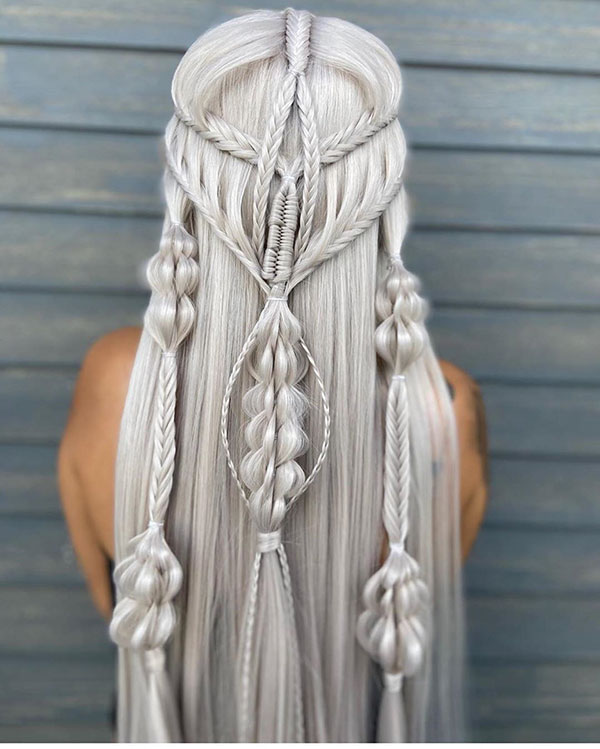 Braided Long Hairstyles 2020