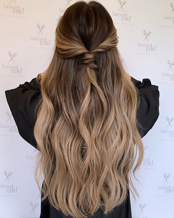 Examples Of Simple Hairstyles For Long Hair