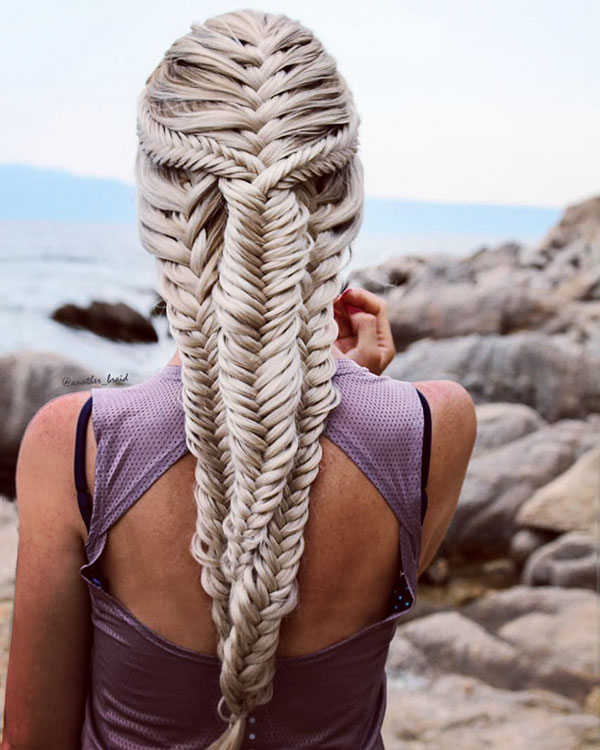Pics Of Long Braided Hairstyles