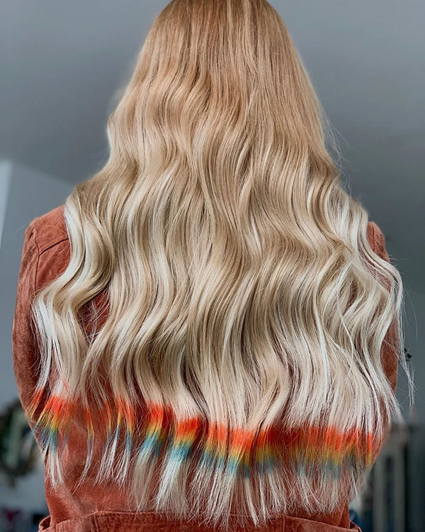 Vibrant Hairstyles For Long Hair